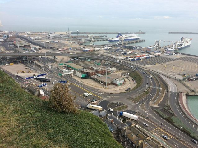 Dover port + town green-lights £120m redevelopment plan. More later.