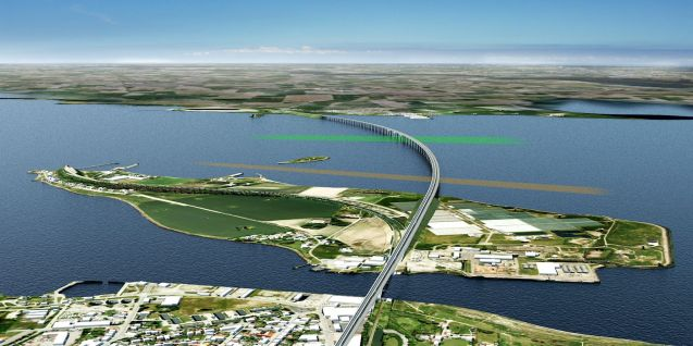 Denmark: construction starts next year on the new 4km Storstrom Bridge between Zealand and Falster islands in Denmark, on the direct route between Copenhagen and Hamburg. It will replace the existing bridge, just to the west, and opens in 2021. Meanwhile, building also starts next year on the Fehmarn Tunnel to finally connect Falster with the German mainland. It will be the world's longest combined rail and road tunnel at 17.6km and is also expected to open in 2021.
