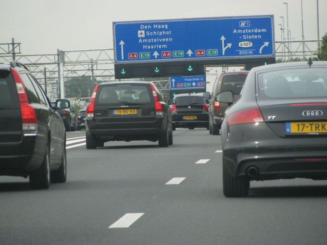 The view of Schiphol Airport from the A4 – south east of Amsterdam - is so good we did it twice. Once on the way down to Stena Line's ferry terminal in Den Haag in September 2012…