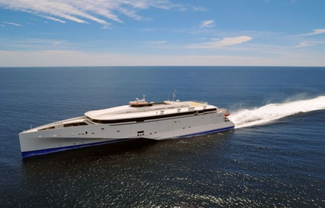 Condor 102: photo courtesy of manufacturer Austal.
