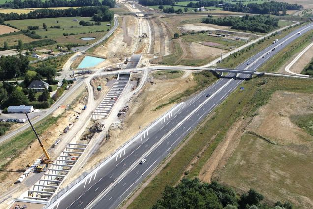A10 Paris-Bordeaux: currently disrupted by works on the parallel LISEA high speed rail line but set to finish next year.