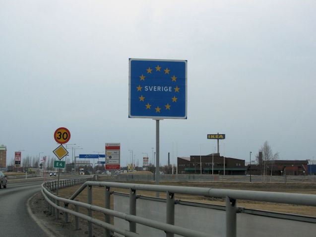 The first thing you might expect to see crossing the Finland-Sweden border is in fact the first thing you do see: an Ikea. The best