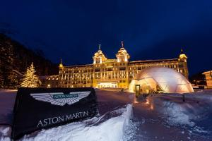 It's nearly time for Aston Martin's dancing on ice. More later.