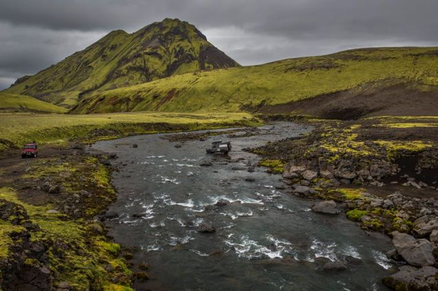 Iceland: photo by Venture4x4.co.uk