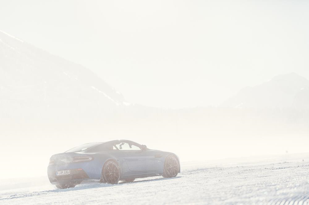 Aston on Ice has moved from St Moritz to Arvidsjaur in northern Sweden we are pleased to report.