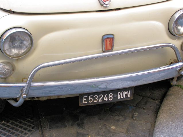Holding picture: Fiat 500L in Rome, April 2010. Photo @DriveEurope.