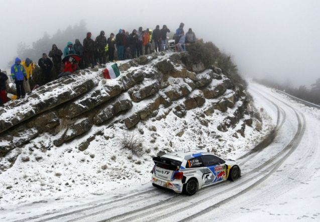 The Monte Carlo Rally kicked off last night with two stages between Monaco and Gap. More on the route later. Photo @FIA
