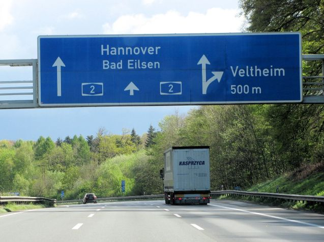 truck drivers must now be paid at least the national minimum wage when working in Germany. Photo @DriveEurope