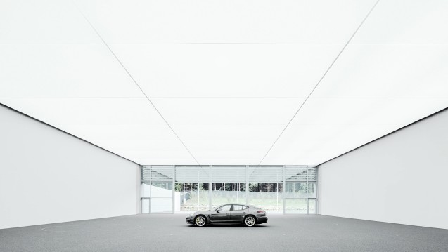 Porsche's new design studio at Weissach, Stuttgart. Photo via @PorscheNewsroom