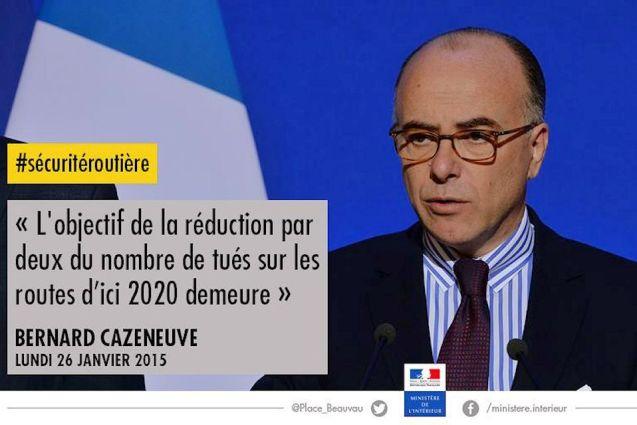 French Interior Minister Bernard