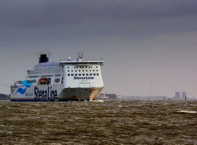 Stena Hollandica, one of the two 'superferries' on the Harwich-Hook of Holland route. Photo @StenaLineUK.
