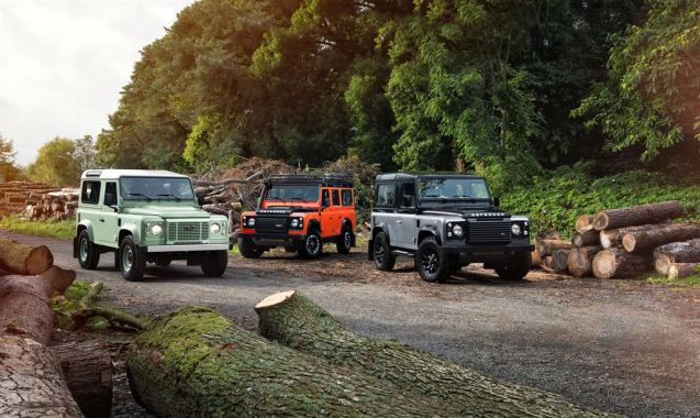 Three special edition Land Rover Defenders to mark to end of its production this year after well over 65 years, including one adventure ready example with snorkel and underbody protection. More later.