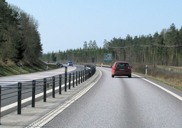 Sweden: final stretch of 2+1 on the E4 Stockholm-Malmo motorway to be widened. More later.