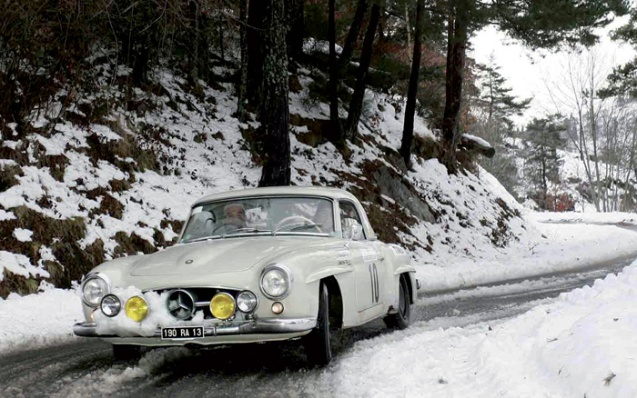 The Historique Monte Carlo Rally. More later.