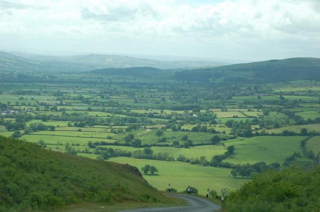 As it embarks on a £15bn upgrade programme the British government wants to create 'a road system in harmony with its surroundings.' Photo, 20% gradient Long Mynd, Church Stretton, Shropshire via @TheAA_Lifestyle.