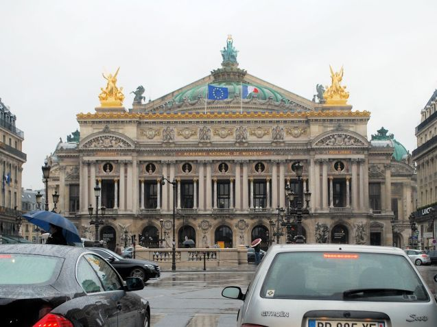 The Palais Garnier, home of the Paris Opera.