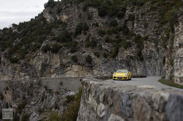 It's due back in Stuttgart on Wednesday so over the weekend Sara Nase (@getpalmd) took the new GT3 for almost a last blast along France's Col de Turini.