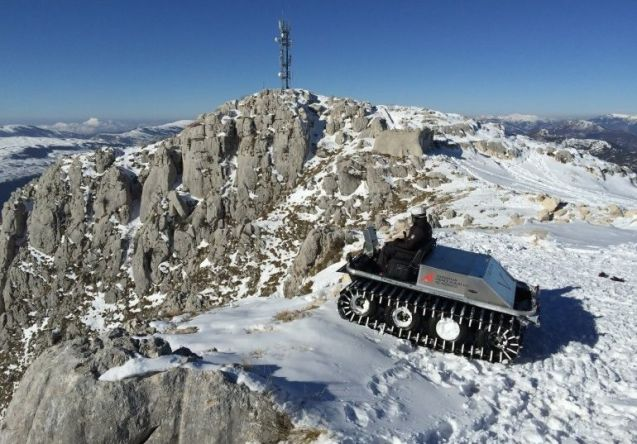 Prince Albert II of Monaco was among those testing the new prototype Venturi Antarctica in the French Alps. More later.