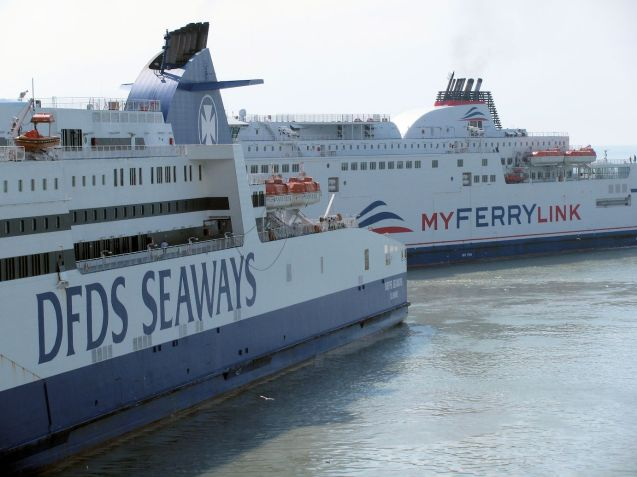 MyFerryLink fight it out Dover-Calais. Photo @DriveEurope