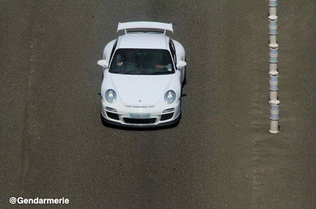 French police seemed quite chuffed last night to bag this Porsche. More later.