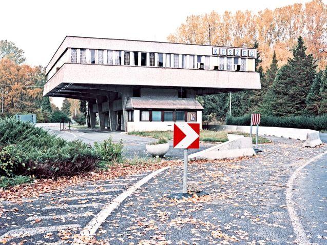 The former Rattersdorf-Köszegcs crossing between Austria and Hungary, Ignacio Evangelista.