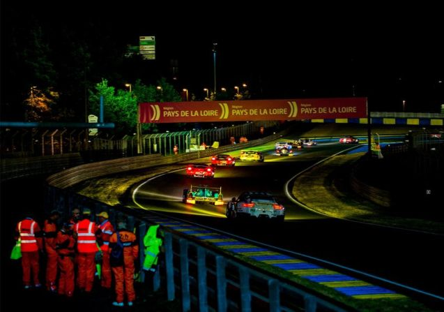 Police say there were no major incidents during this weekend's Le Mans 24 Hours. More later.