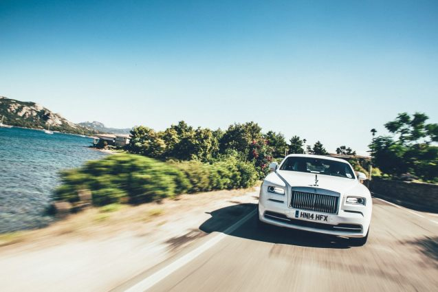 Rolls-Royce sets up shop again on Sardinia. More later.