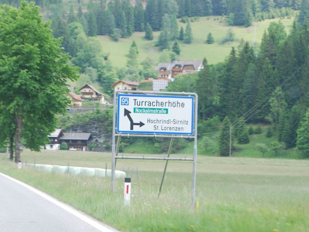 Turracherhohe and Nockalmstrasse, two mountain roads in Austria. More later.