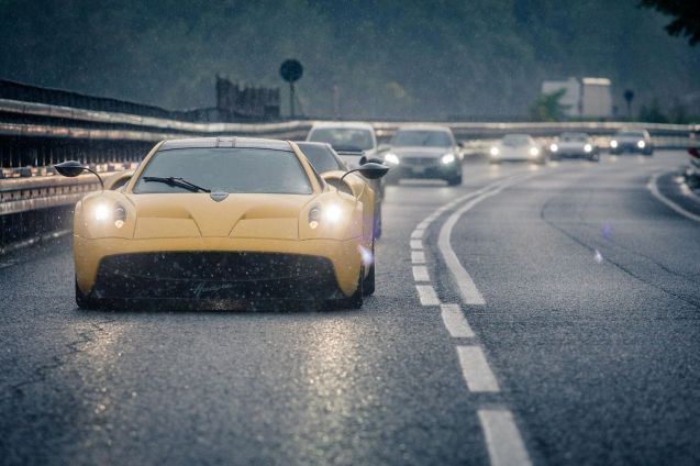 Pagani's 'Vanishing Point' Tour. More later.