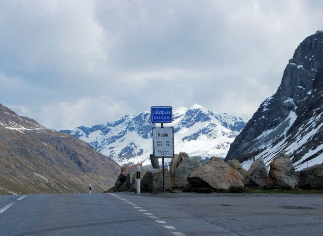 Julier Pass, Switzerland. More later. Photo @DriveEurope