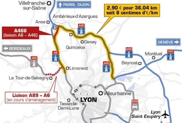 A link between the A6 and A46 north of Lyon opened on Saturday morning, smoothing the way on the so-called 'TransEuropean' axis between Bordeaux and Geneva, France's first full length east-west motorway. Meanwhile, work is due to start imminently on the connection between the A89 and A6 to the north west of the city for completion in late 2017. Of more immediate use is the newly widened three-lane A71 north of Vierzon, a regular bottleneck on Black Saturday headlong rushes south.