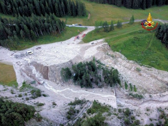 Another major landslide in the High Dolomites, this time claiming three lives. More later.