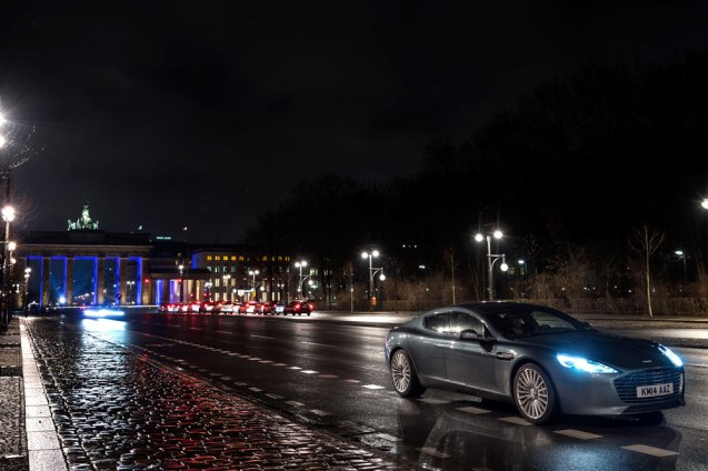 Travelogue from Aston Martin in Berlin. More later.