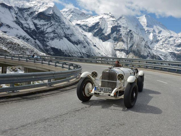 Mercedes-Benz SSK Baujahr 1927 Großglockner Grand Prix 2012, Österreich.