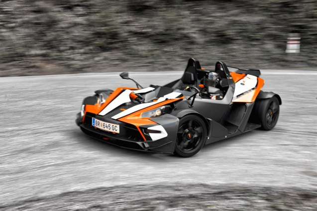 Only vehicles type-approved without windscreens – such as the Austrian designed and built KTM X-Bow, above – are exempt from the need to stick the vignette on the windscreen. Even then the sticker 'must be kept on the driver's person', and left clearly visible inside the car when parked up at a motorway service station.
