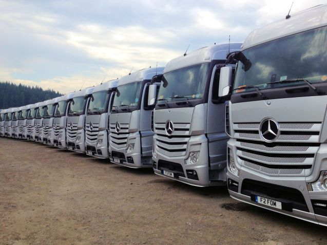 Mercedes-Benz Actros, Belgian Grand Prix 2013. More later.