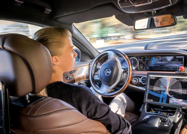 TecDay Mercedes-Benz S500 Inteligent Drive/TecDay Autonomous Mobility Sunnyvale 2014