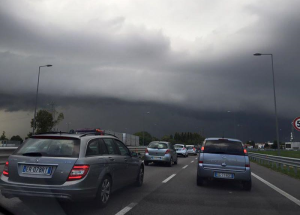 After southeast France was ravaged by floods early on Sunday, the alarm was raised in north east Italy late yesterday after rare so-called supercell storm clouds were spotted over Venice. Formed as a thunderstorm updraft meets veering winds to create a rotating 'mesocyclone', supercells are associated with tornadoes, very large hailstones, winds in excess of 130kmh and flash floods. Thankfully, overnight the storm dissipated in the central Mediterranean region. Only northern Portugal is now under meteoalarm alert for severe weather, for high winds and heavy rain.