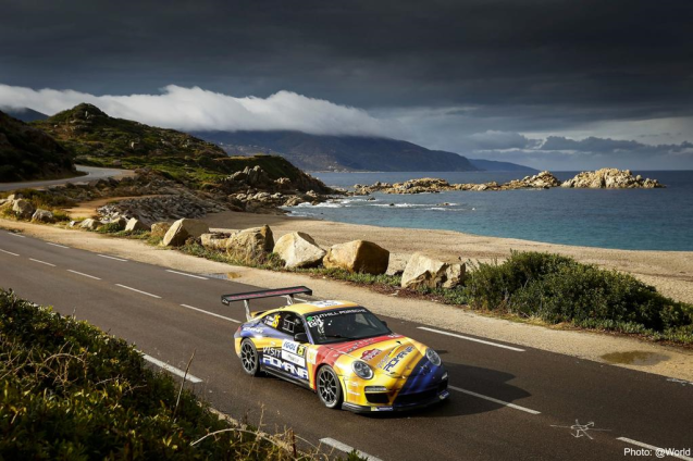 After two days on torrential rain, flooding, collapsed roads and cancelled stages, the sun returns for the final day of the Tour de Corse World Rally