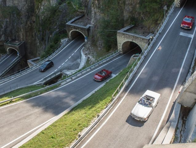 San Boldo Pass., Italy. More later.