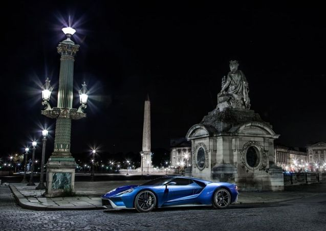 Fantastic photos of upcoming Ford GT in Paris. More later.