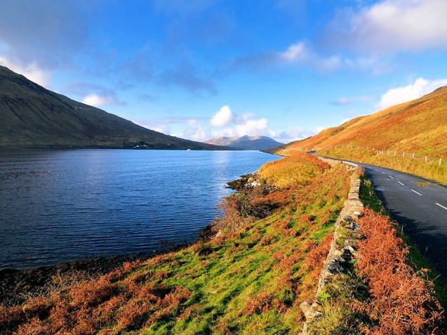 Ireland's Wild Atlantic Way: the glacial fjord at Killary Harbour is located at the heart of Connemara's famous rugged and dramatic landscape. More at WildAtlanticWay.com