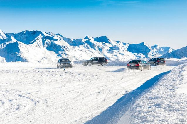 BMW has been running winter driving courses at Solden in Austria since 1990. At 2800m – 9000+ft – the firm is undoubtedly correct to call it the 'highest driver training centre in the world'. The Otztal Glacier Road is not just the highest paved road in the Alps but stays open all year too (see more open all year high mountain roads). It was also where scenes from James Bond's Spectre were filmed earlier this year. A wide selection of vehicles from the BMW line up is available – 'from M4 to X5' – with courses tailored to beginners, advanced and professionals. Prices start at €410 per person for a half day course rising to €1690 for two nights-three days, staying at the Das Central hotel in Solden. BMW also has a winter driving centre at Arjeplog in Sweden with three and five day courses, from €2290pp. See more.