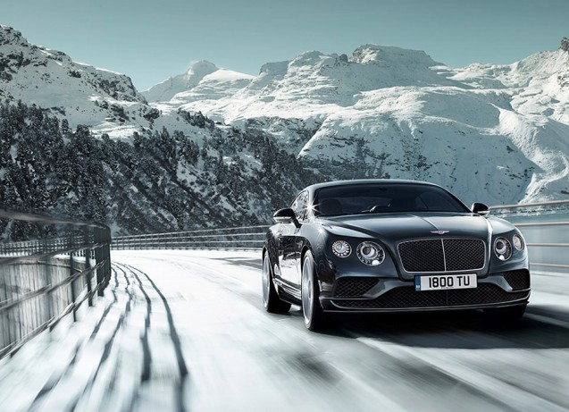 A look at Bentley's £15,000 per couple Alpine road trip. More later.