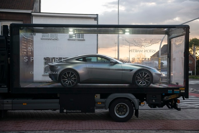 Aston Martin concludes its 'Built for Bond' tour with the DB10 made specially for Spectre. More later.