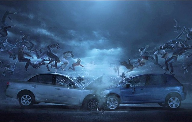 Shock Wave: a new road safety film makes the point that the effect of road accidents are felt among the friends and family of those involved. Photo
