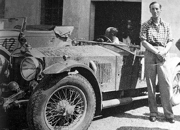 James Bond author Ian Fleming's first foreign assignment with Reuters was as co-driver on the Alpine Trial. More later.
