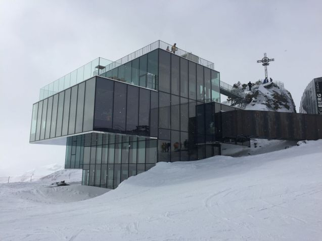 The Ice Q restaurant as featured in James Bond Spectre. Open every lunchtime but only on Wednesdays for dinner. Book via Das Central Hotel.