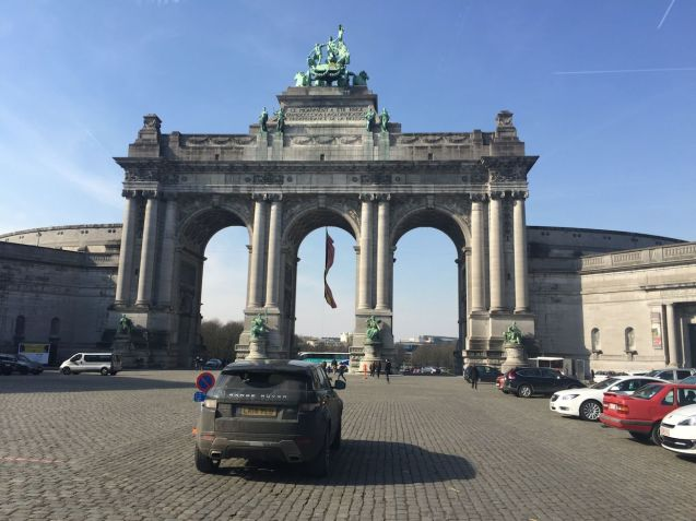 A quick stop off at Cinquintenaire Park east of Brussels city centre, home of the Autoworld Museum.