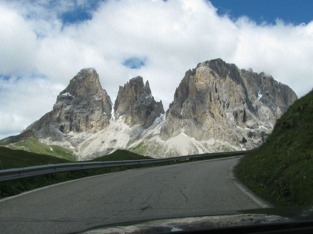 Sella Pass. Photo @DriveEurope